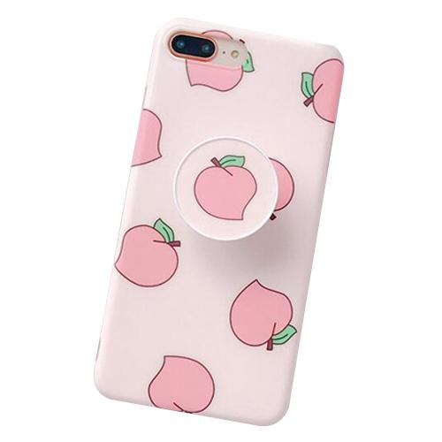아이폰 복숭아 스마트톡 휴대폰 케이스