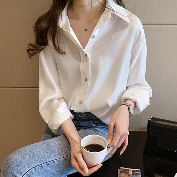 포플러앤씨 여성용 로델리 셔츠