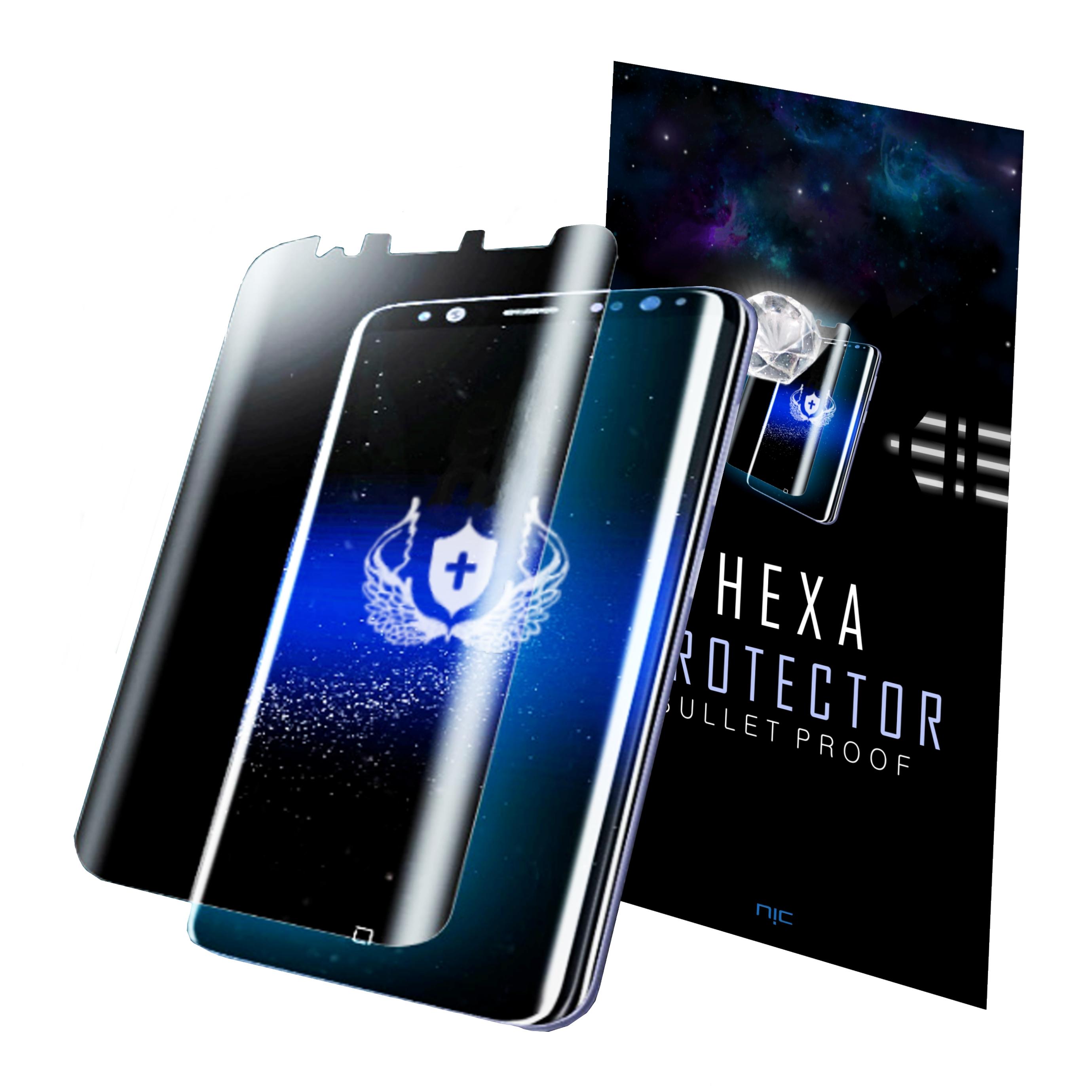 헥사 프로텍터 곡면 풀커버 휴대폰 액정보호필름, 3매입