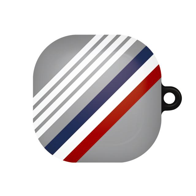 바니몽 심플리 갤럭시 버즈라이브 하드케이스, 단일상품, 01 사선그레이블루