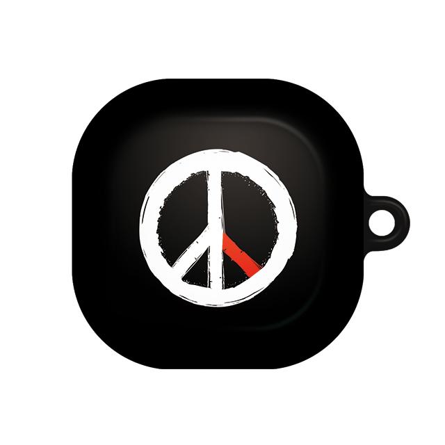 바니몽 더드로잉 갤럭시 버즈라이브 하드케이스, 단일상품, 02 피스블랙