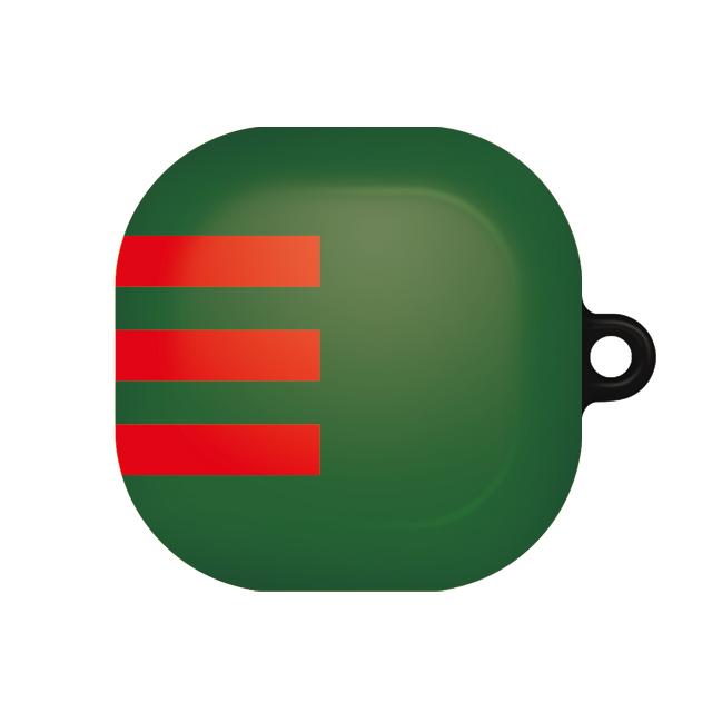 바니몽 더드로잉 갤럭시 버즈라이브 하드케이스, 단일상품, 01 레드삼선