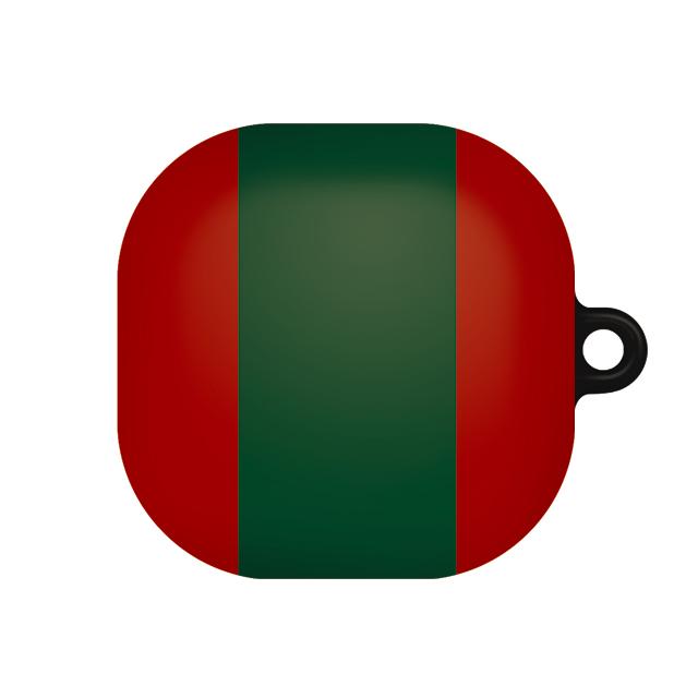 바니몽 심플리 갤럭시 버즈라이브 하드케이스, 단일상품, 01 레드빅그린