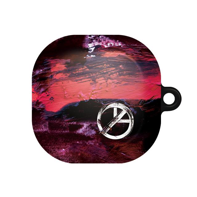 바니몽 더드로잉 갤럭시 버즈라이브 하드케이스, 단일상품, 02 피스페인트