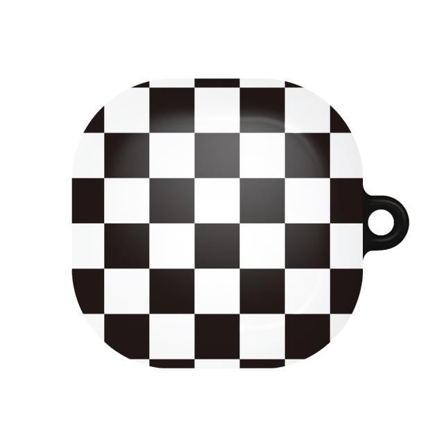 바니몽 더드로잉 갤럭시 버즈라이브 하드케이스, 단일상품, 02 체커보드