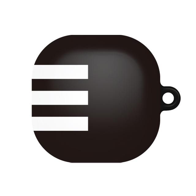 바니몽 더드로잉 갤럭시 버즈라이브 하드케이스, 단일상품, 01 화이트삼선