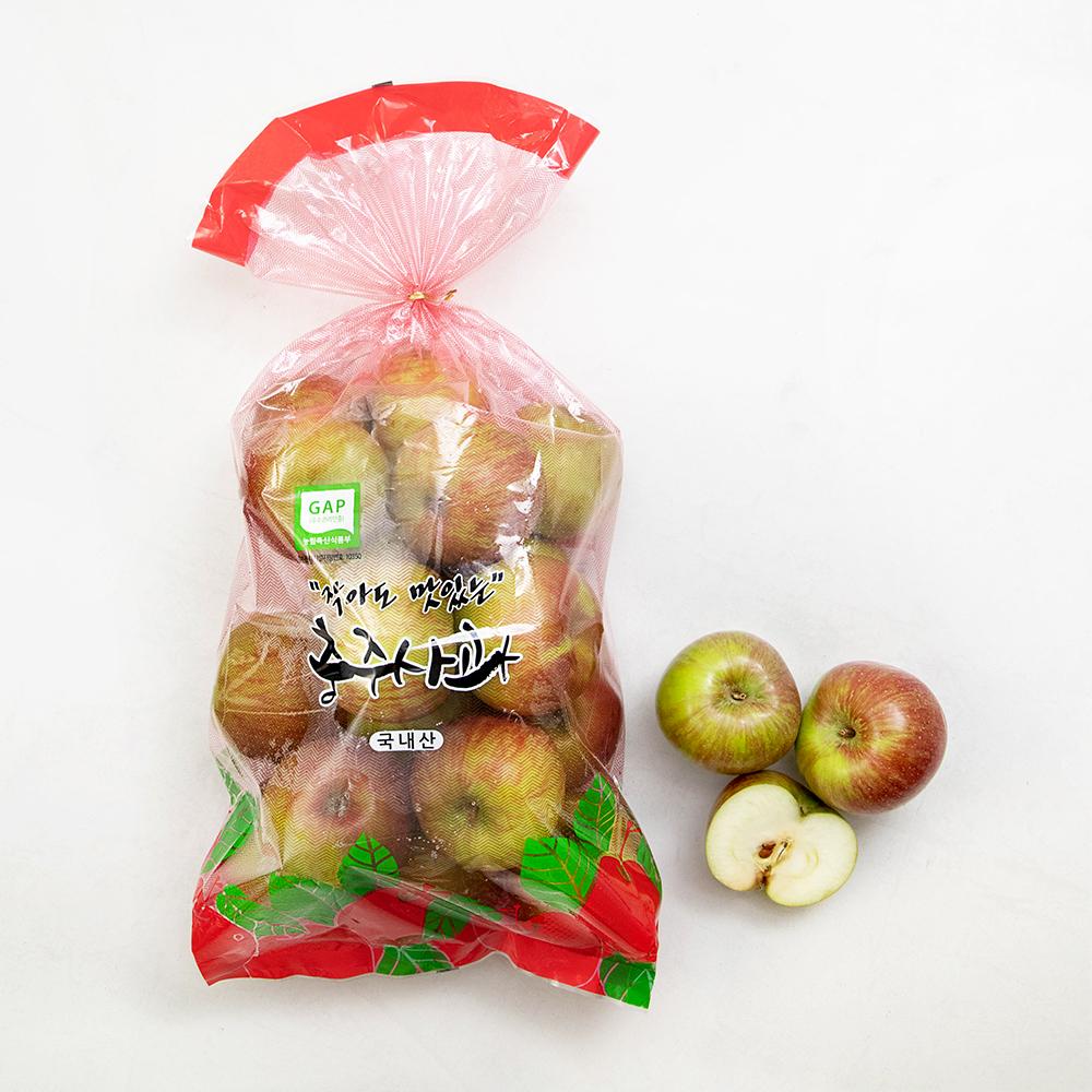 새콤한 충주 GAP 인증 햇사과, 3kg, 1봉