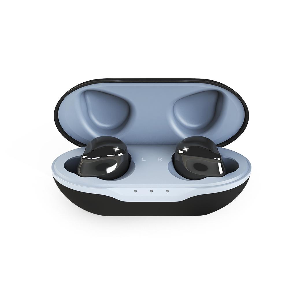 앱코 EF02 블루투스 이어폰, 단일상품, Black