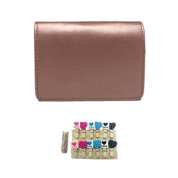 캐논 인스픽S 전용 가방 + 하트나무데코, 골드(가방)