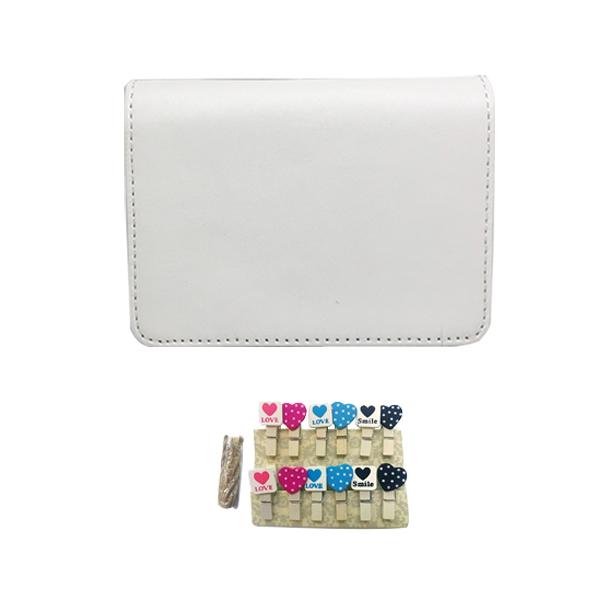 캐논 인스픽S 전용 가방 + 하트나무데코, 화이트(가방)