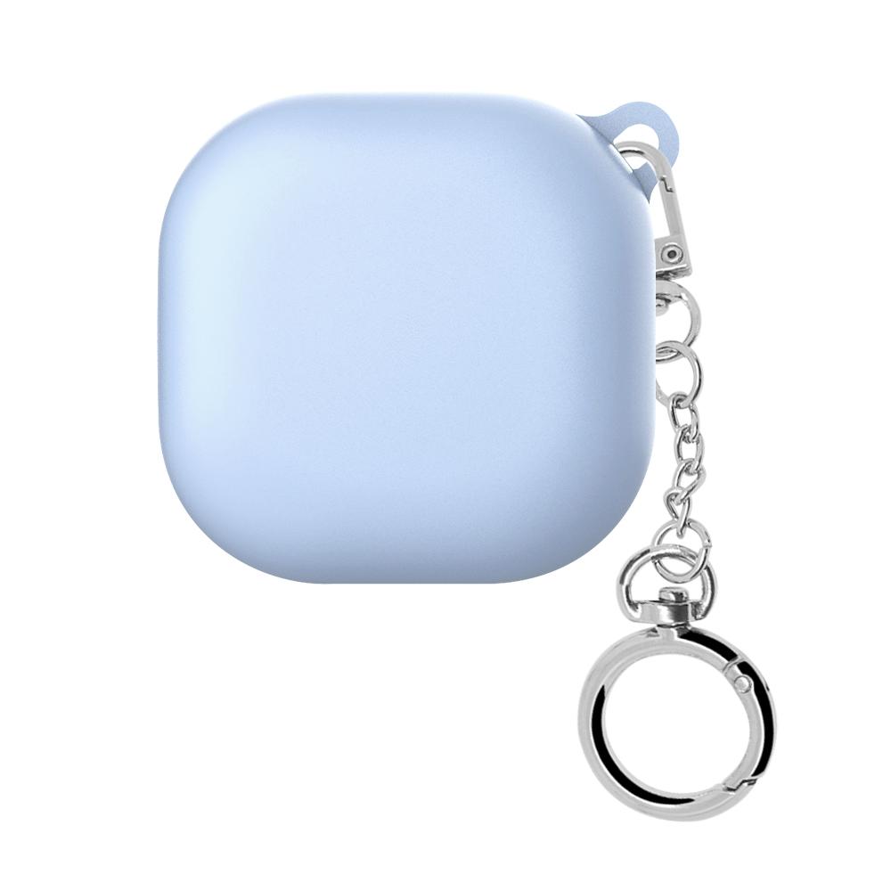 웨이브스튜디오 소울 컬러 갤럭시 버즈 라이브 케이스, 단일상품, 블루