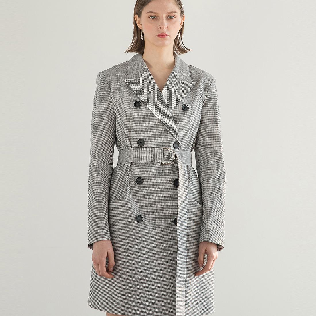 클렛 Double Princess Check Jacket Dress