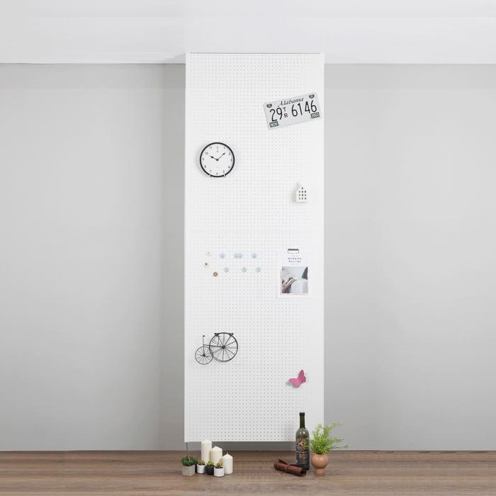 타공판닷컴 가벽 인테리어 사무실 셀프 파티션 80 x 200 cm, 화이트