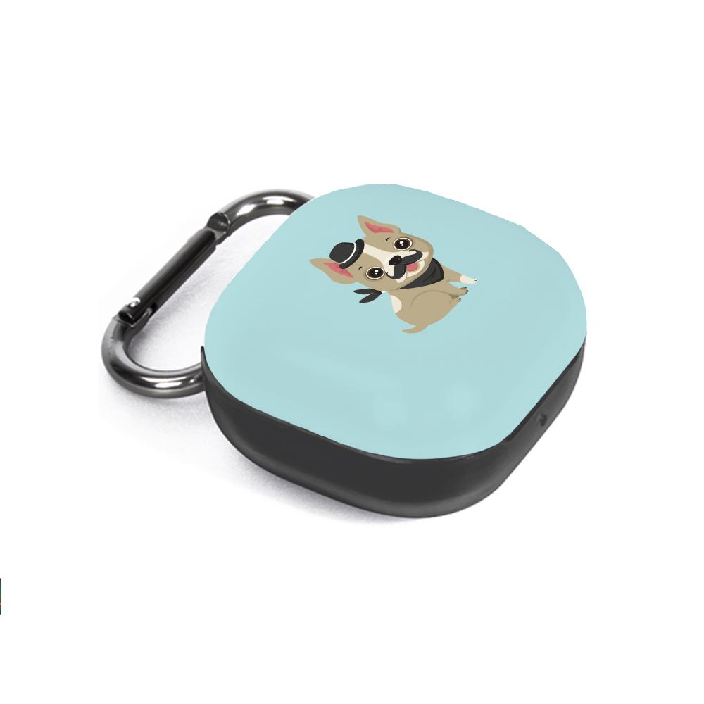 구스페리 강아지 인스타 디자인 갤럭시 버즈라이브 케이스 + 키링, 단일상품, 우리집모자