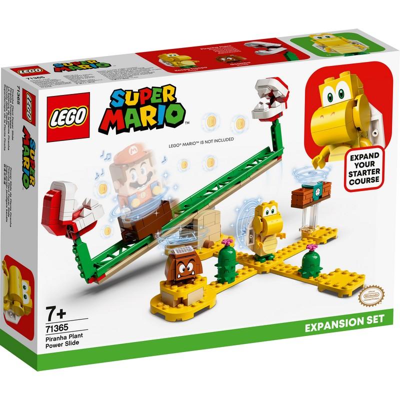 레고 슈퍼마리오 뻐끔플라워 파워 슬라이드 확장팩 71365, 혼합색상