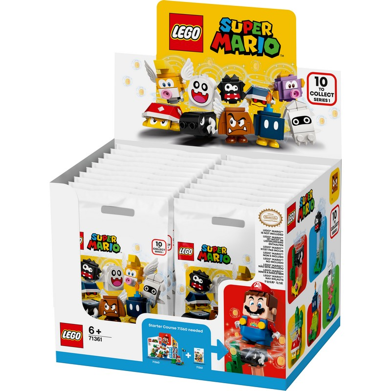 레고 슈퍼 마리오 캐릭터팩 71361 20p, 혼합색상