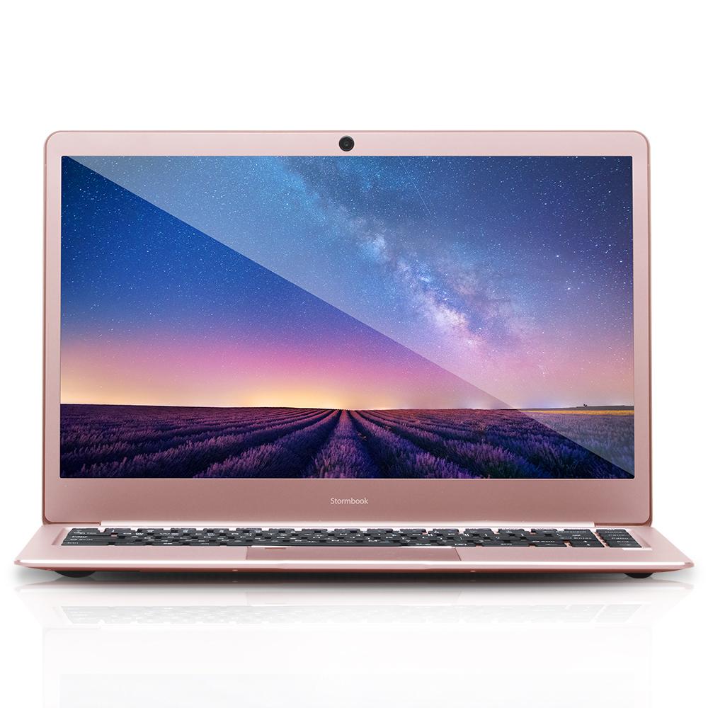 아이뮤즈 노트북 로즈골드 Stormbook14 APOLLO (아폴로 레이크 N3350 35.8cm WIN10 Home), 포함, eMMC 64GB, 4GB