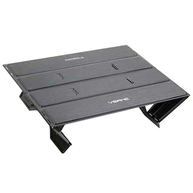 [백패킹] 베른 트레킹패드 초경량 미니 테이블, 매트 블랙 - 랭킹6위 (37620원)