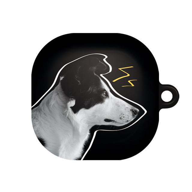 바니몽 갤럭시 버즈라이브 필오프 하드케이스, 단일상품, 01 블랙콜리