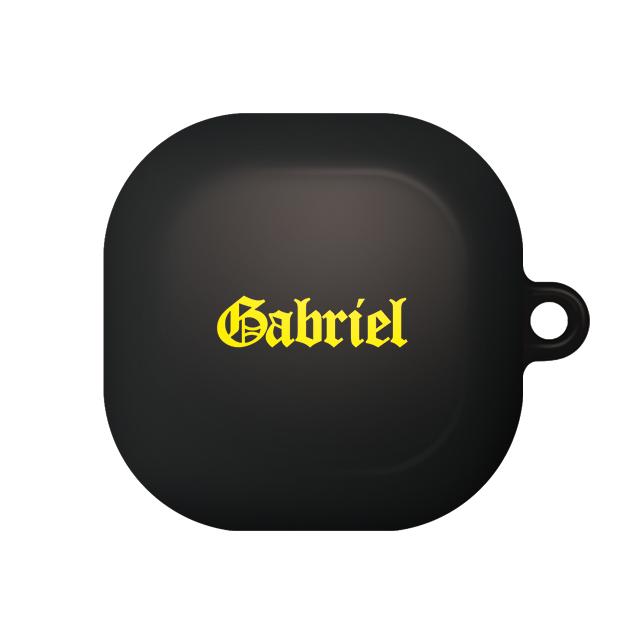 바니몽 갤럭시 버즈라이브 테이크 하드케이스, 단일상품, 04 가브리엘블랙