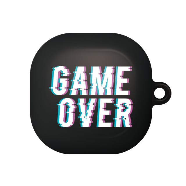 바니몽 갤럭시 버즈라이브 테이크 하드케이스, 단일상품, 04 게임오버블랙