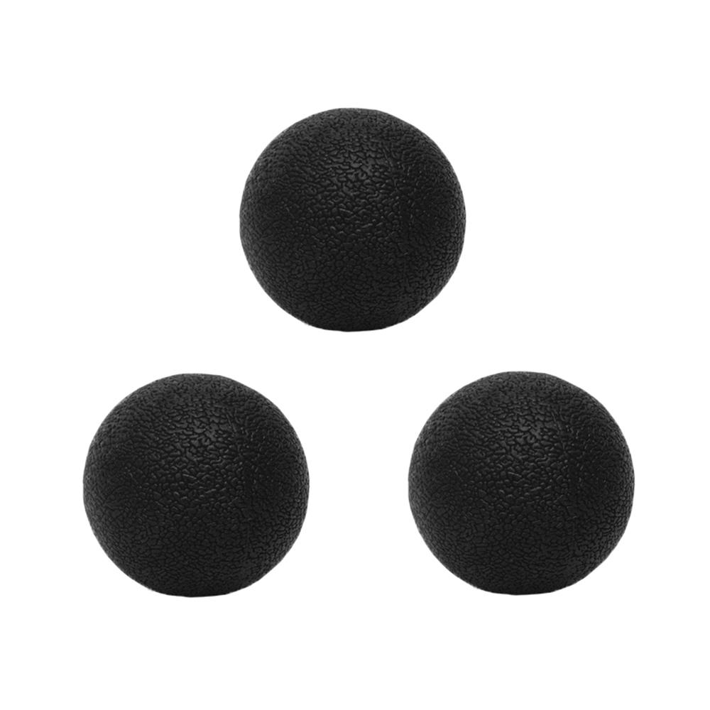 HMUS 요가 싱글 마사지볼, 블랙, 3개 (POP 1941666348)