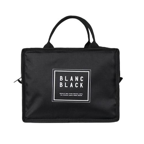 블랑블랙 피크닉 런치 쿨러백, BLACK-10-1889060959