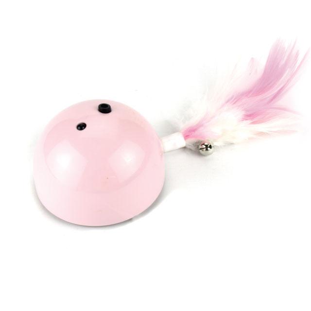 리스펫 술래잡기 고양이 자동장난감, iT-1101, 핑크