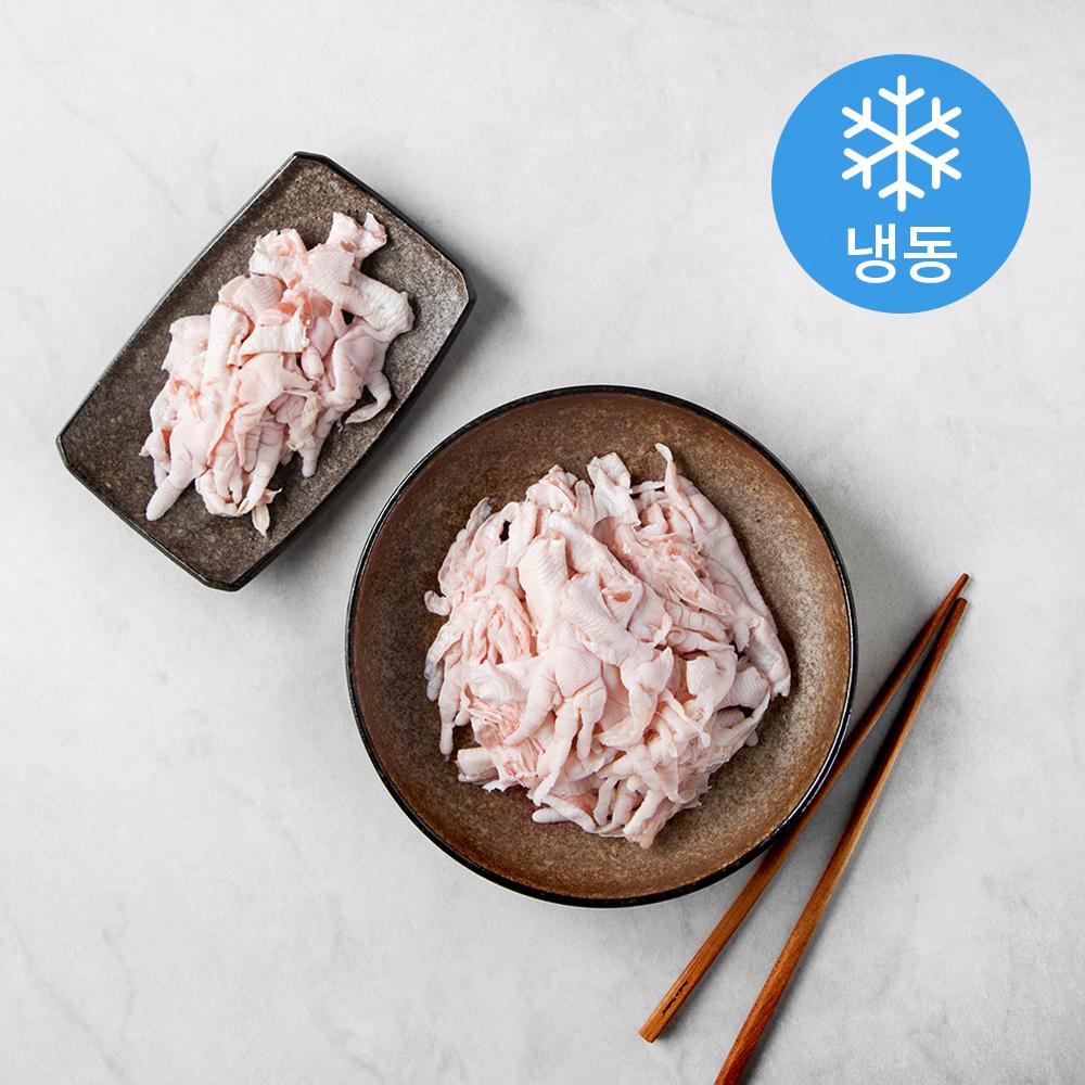 마니커 국내산 손질된 무뼈 닭발 (냉동), 1kg, 1개