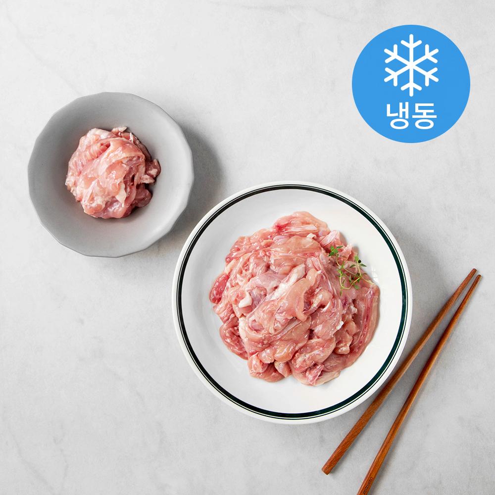 마니커 국내산 닭 목살 (냉동), 1kg, 1개