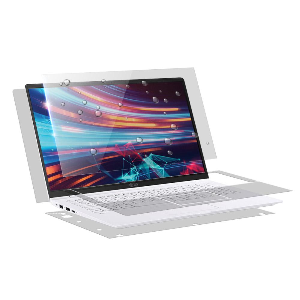 알럽스킨 LG 그램 2019 노트북 15Z990 15ZD990 올레포빅 액정보호필름 + 전신 외부 보호필름 2p 세트, 1세트
