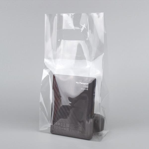 PP 비닐쇼핑백 미니 비닐봉투 50p, 투명
