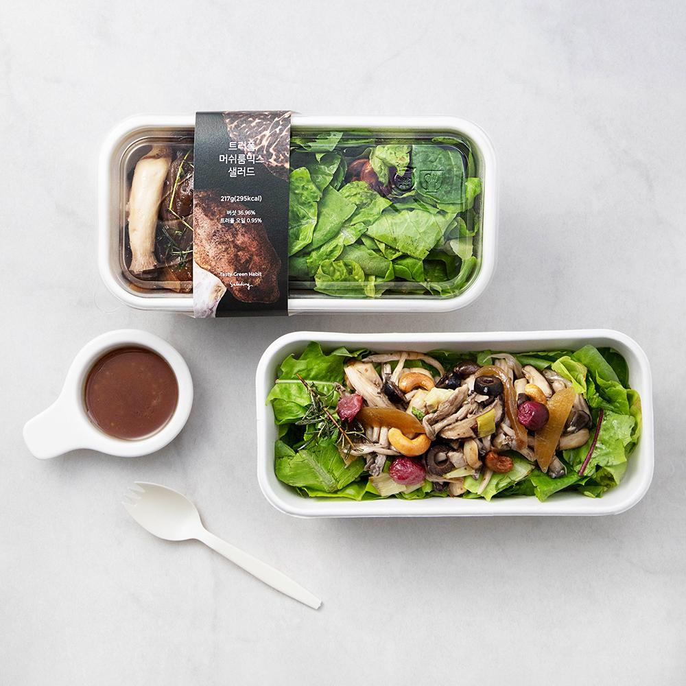 샐러딩 트러플 머쉬룸 믹스 샐러드, 217g, 2개