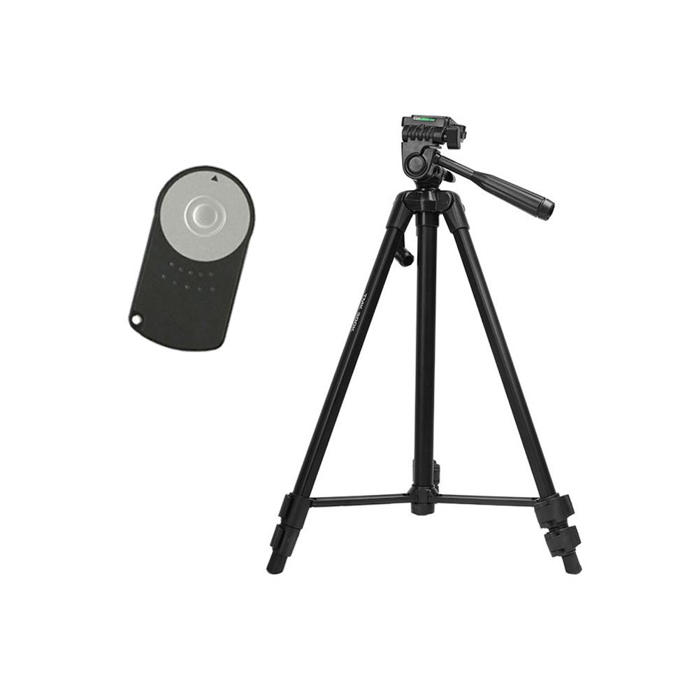 TMK 캐논 EOS M/750D/700D/100D/650D/600D/550D/500D/450D/400D/350D/300D/60 호환 미러리스 앤 DSLR 삼각대 TMK-300K + 캐논 무선 리모컨 세트