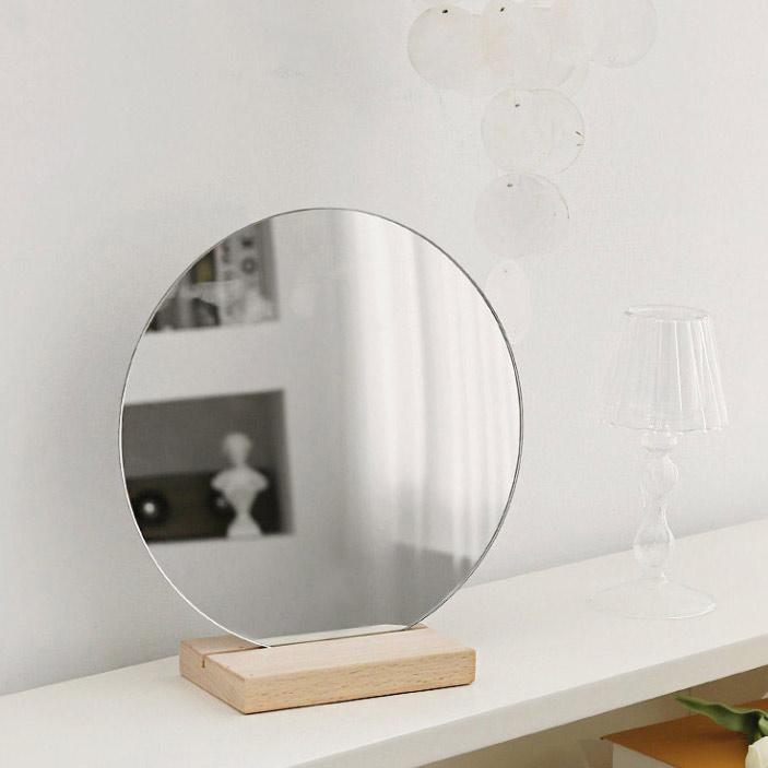 아트페플 원형 탁상거울, 혼합색상