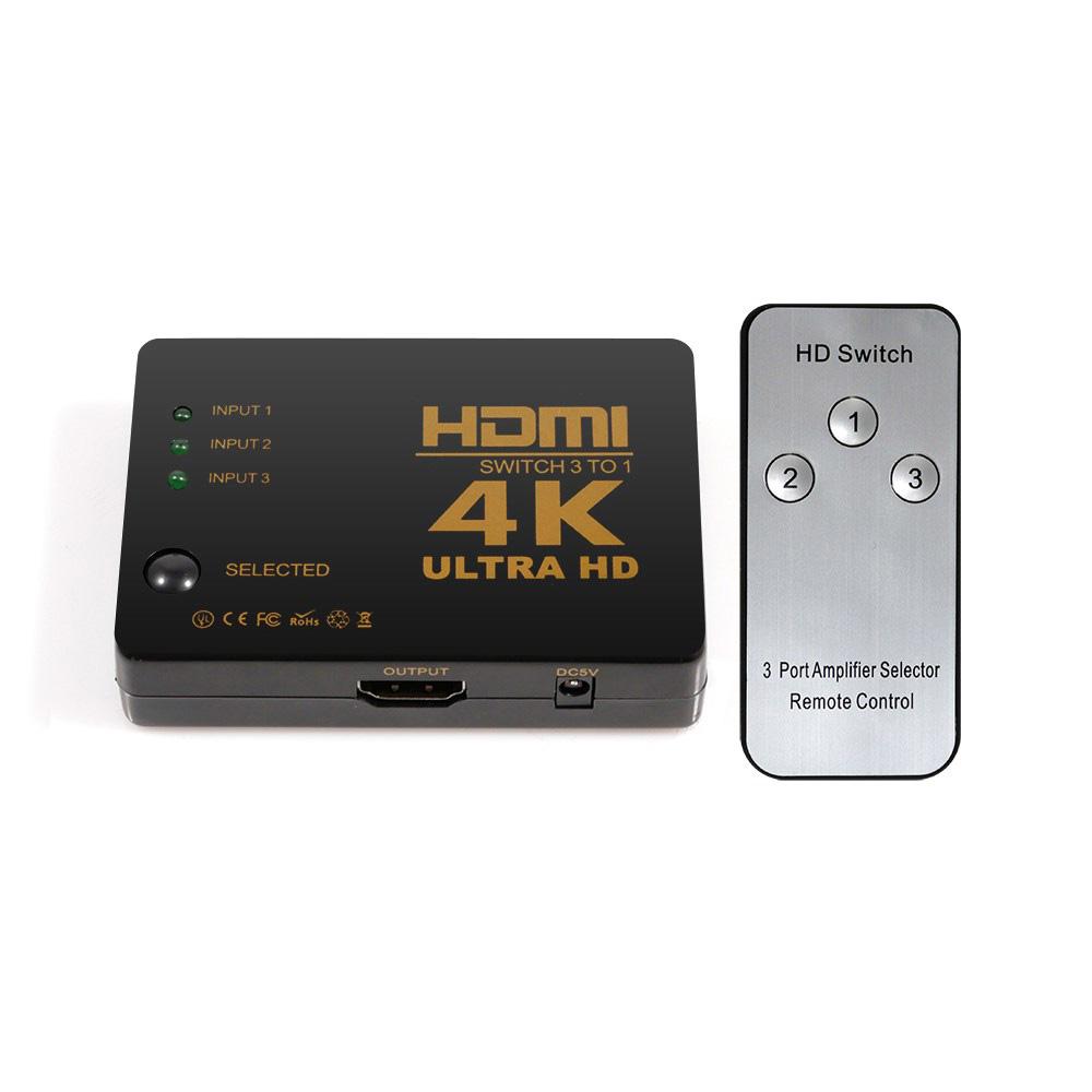 넥스트 3대1 HDMI 선택기 UHD 4K