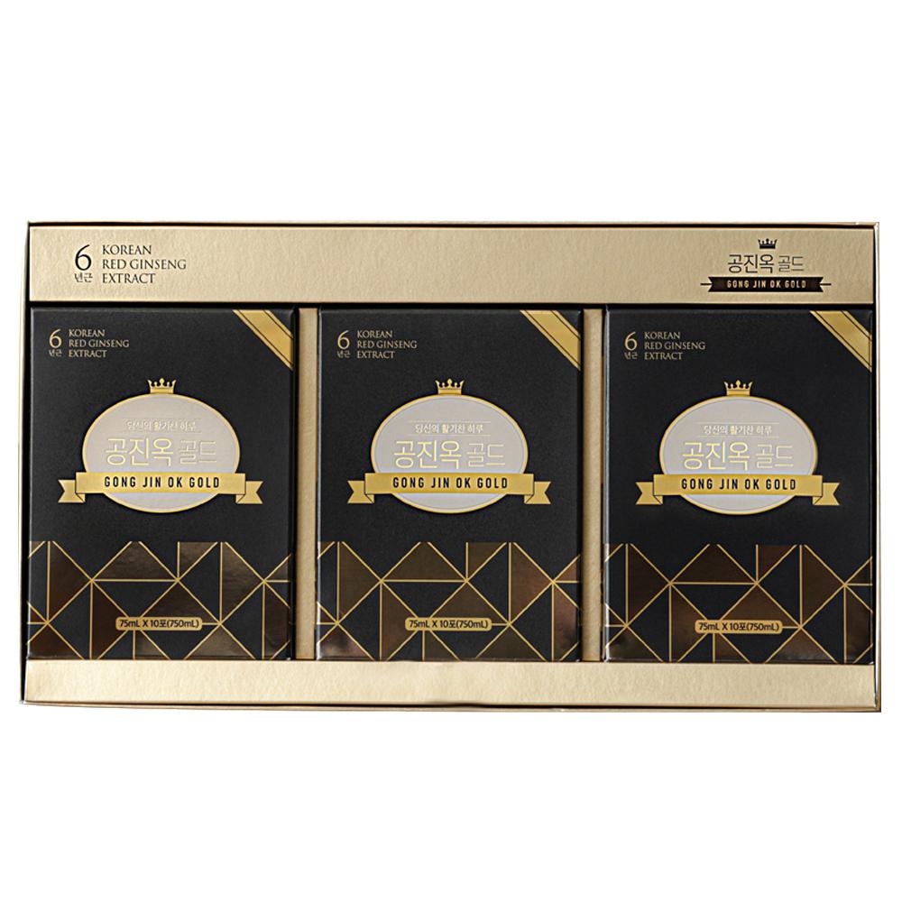 경방신약 공진옥 골드 + 쇼핑백, 75ml, 30개