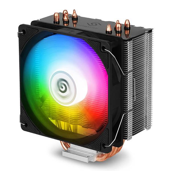 앱코 SUITMASTER 자이로스 RGB CPU 쿨러 T201