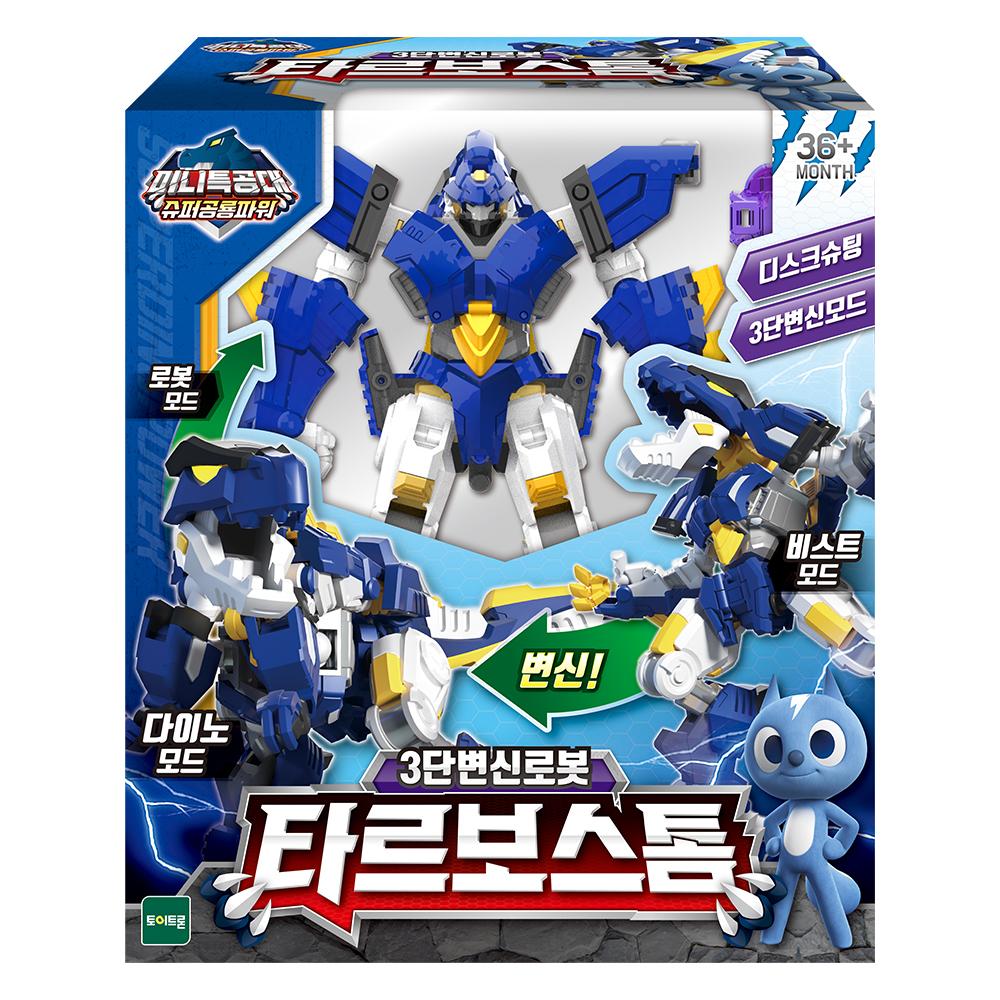 미니특공대 슈퍼공룡파워 타르보스톰 로봇장난감, 혼합색상