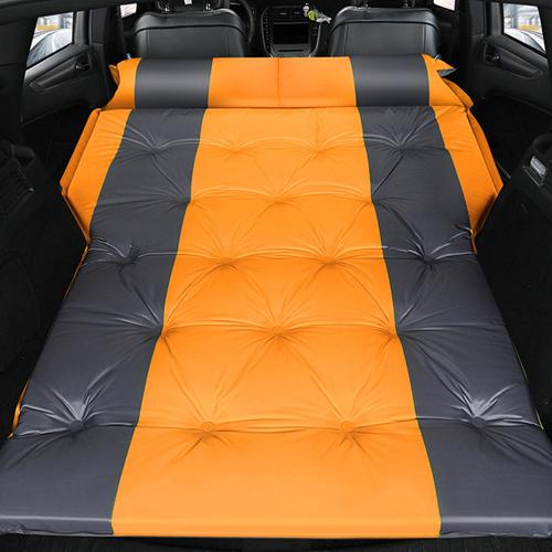 929 빅스터 SUV 차량용 차박 자충매트 + 파우치, 오렌지