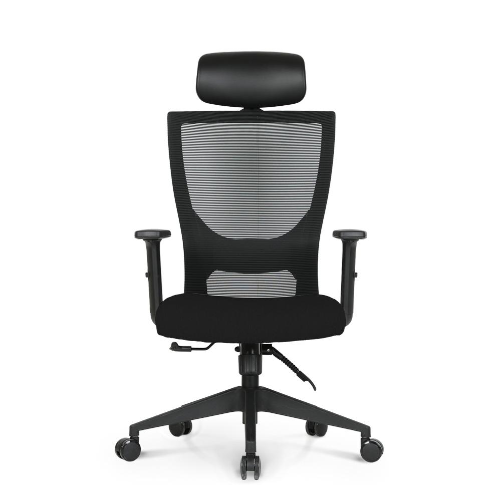 린백 학생 컴퓨터 책상용 사무용 의자 LB19HB, 블랙