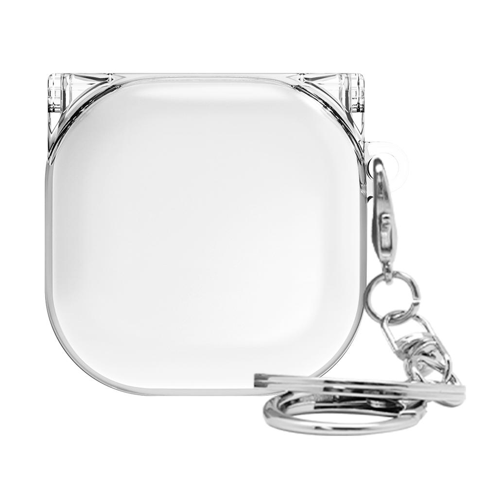 솔리드 투명 갤럭시 버즈 라이브 케이스, 단일상품, 클리어투명