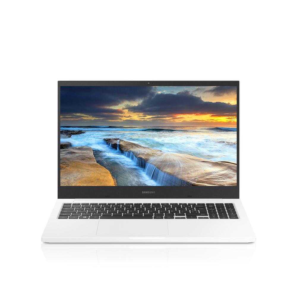 삼성전자 노트북 플러스 퓨어화이트 NT550XCR-AD1WA (셀러론-5205U 39.6cm), 미포함, NVMe 128GB, 8GB