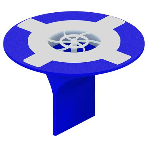 다막아 자버 숏 욕실용 하수구 트랩 블루, 1개