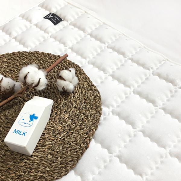 안트미미 아기 인견 면 양면패드, 화이트