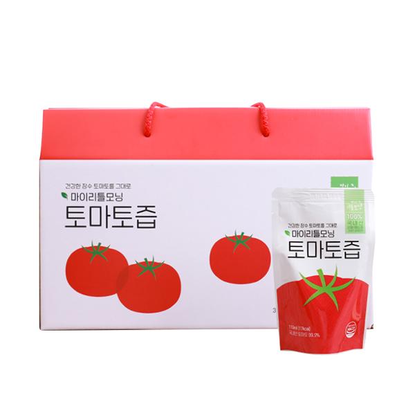 마이리틀모닝 토마토즙, 토마토맛, 30개