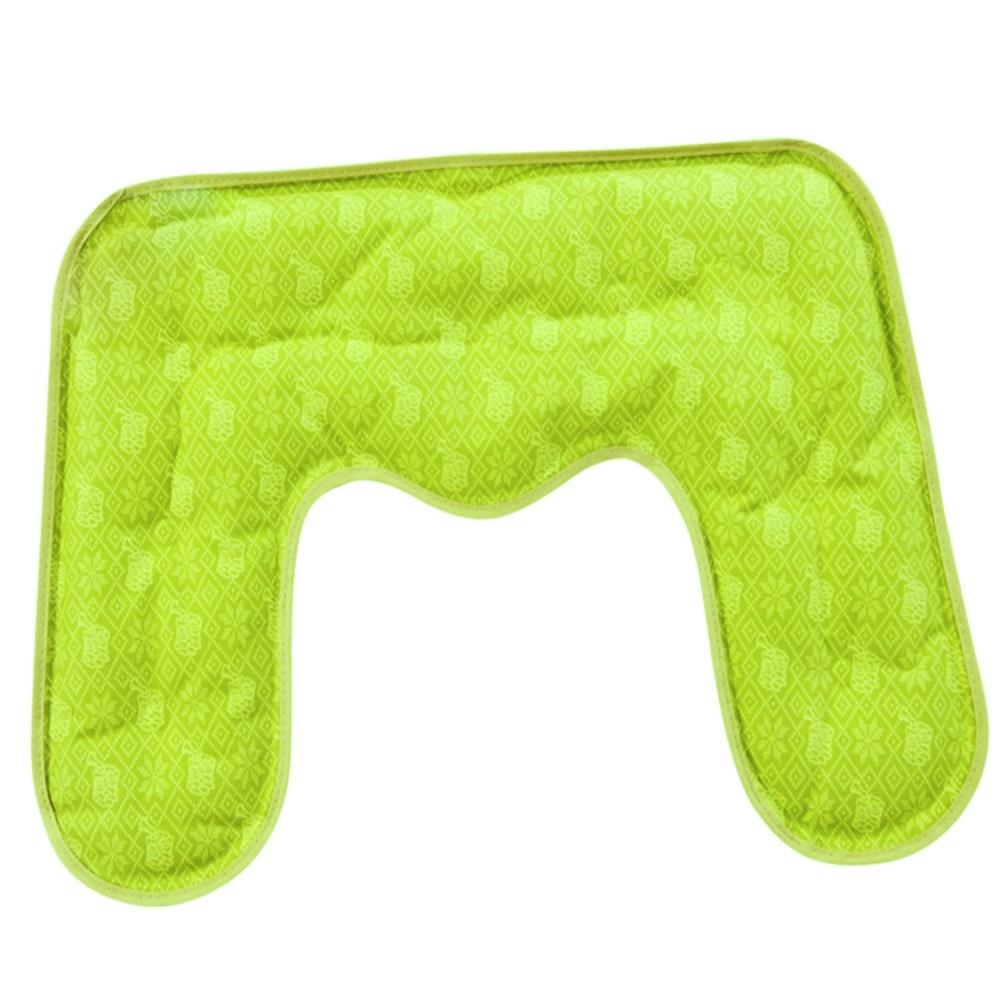 핫앤핫 아로마 허브 순면 냉온 찜질팩 목어깨용 GREEN, 1개