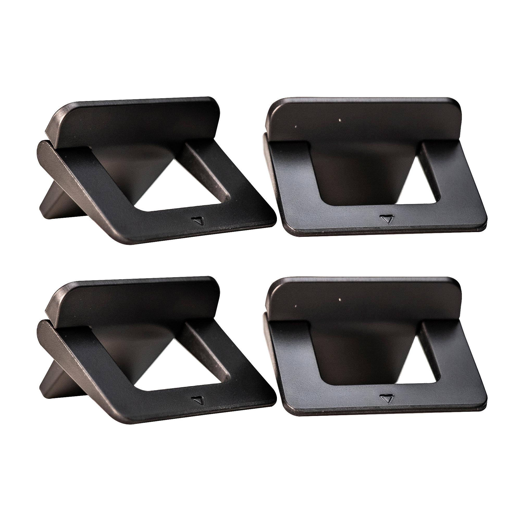라온누리 탈부착식 노트북 높낮이 조절 접이식 스탠드 2세트, 단일색상