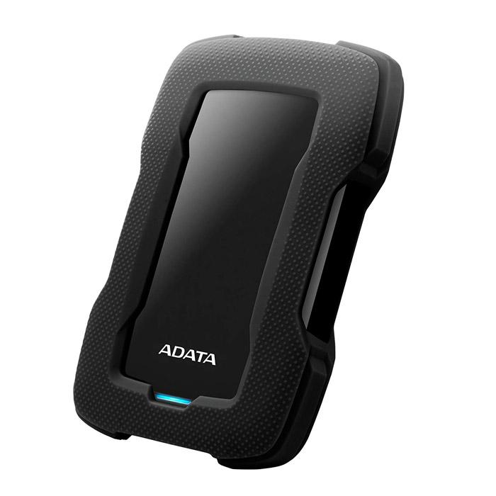 ADATA Durable 외장하드 HD330 + AC플러스 데이터복구 서비스, 1TB, 블랙