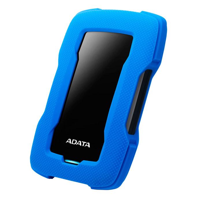 ADATA Durable 외장하드 HD330 + AC플러스 데이터복구 서비스, 1TB, 블루
